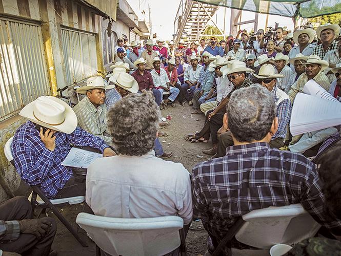 El pueblo Yaqui asegura que no cejará en su lucha por el agua que, dicen, les pertenece por historia y por un decreto de 1940