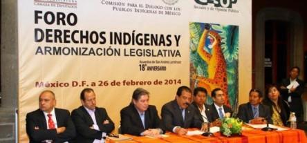 foro Derechos Indígenas y Armonización Legislativa_