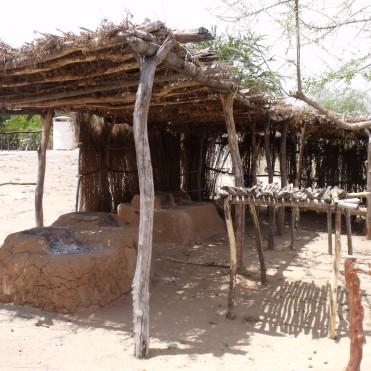 Enramada en Colonia Makurawi, San Bernardo, Álamos